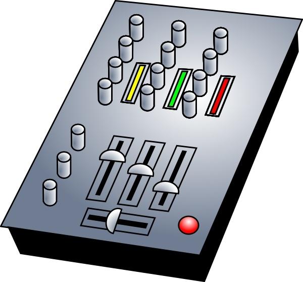 600x558 Dj Audio Mixer Clip Art Free Vector In Open Office Drawing Svg