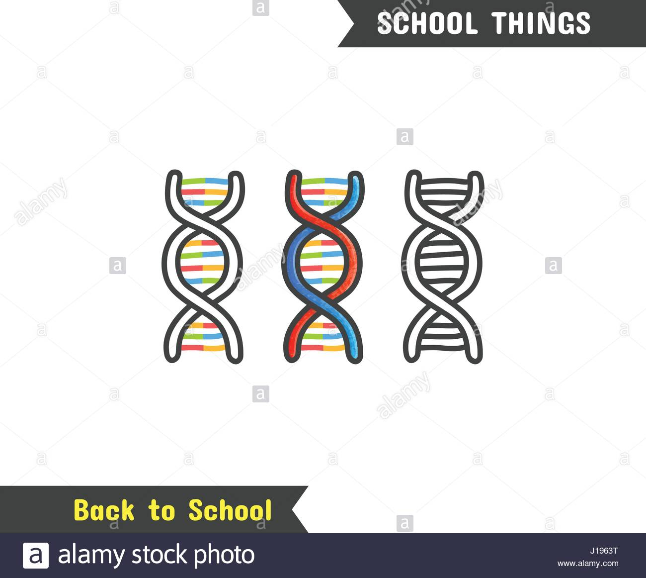 1300x1162 Back To School Supplies, Vector Hand Drawn Icon, Isolated On White