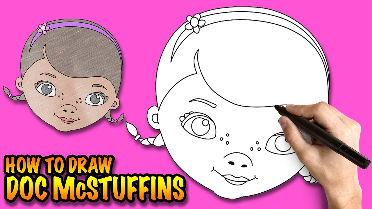 1280x720 How To Draw Doc Mcstuffins