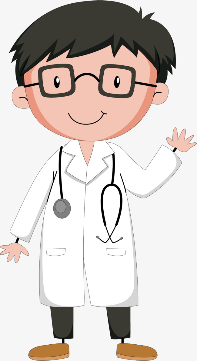 650x1192 Vector Hand Glasses Doctor, Glasses, Vector Diagram, Hand Drawing