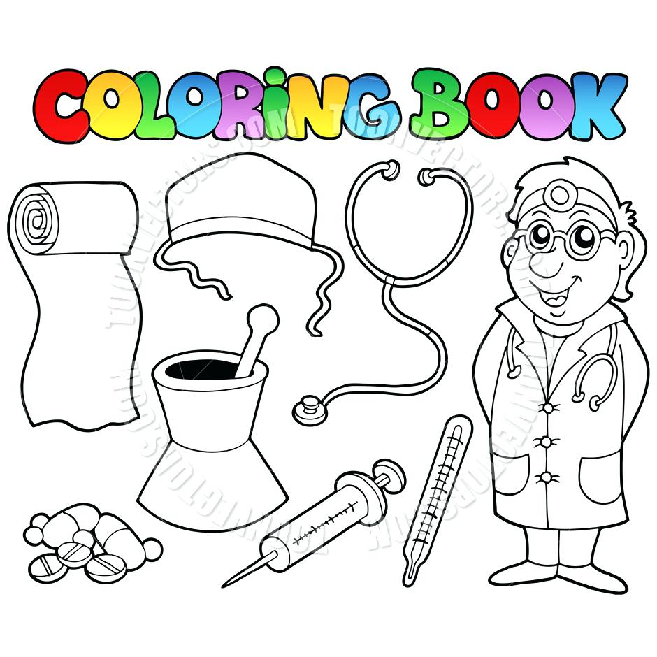Doctor Tools Drawing at GetDrawings.com | Free for personal use ...
