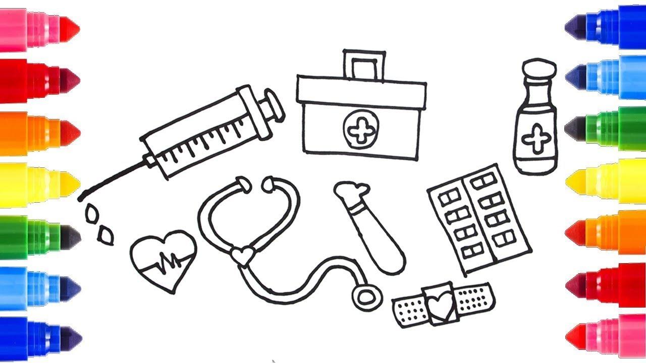 Doctor Tools Drawing At GetDrawings.com