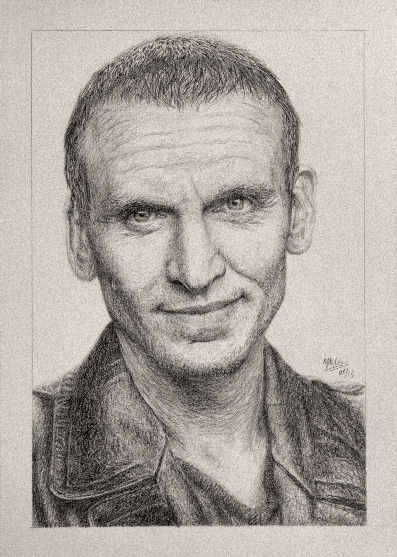 1280x1797 Drawing Doctor Who Project Christopher Eccleston By Atarial
