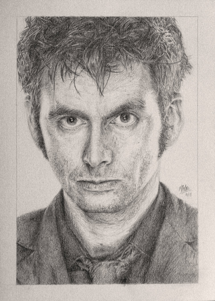 756x1056 Drawing Doctor Who Project David Tennant By Atarial