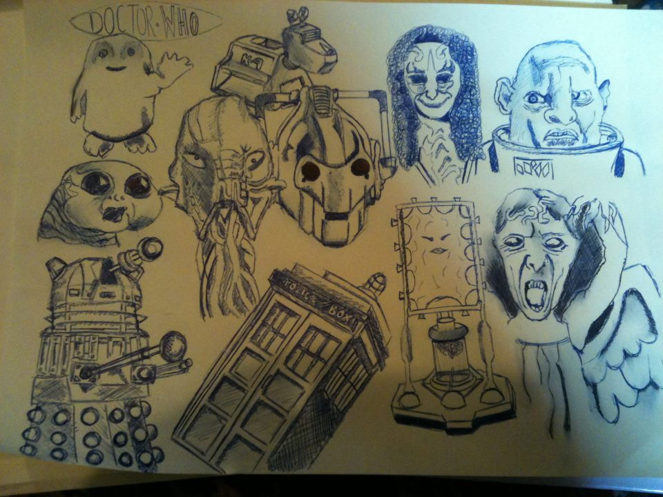 960x720e Of My Doctor Who Drawings By Artisticanna12