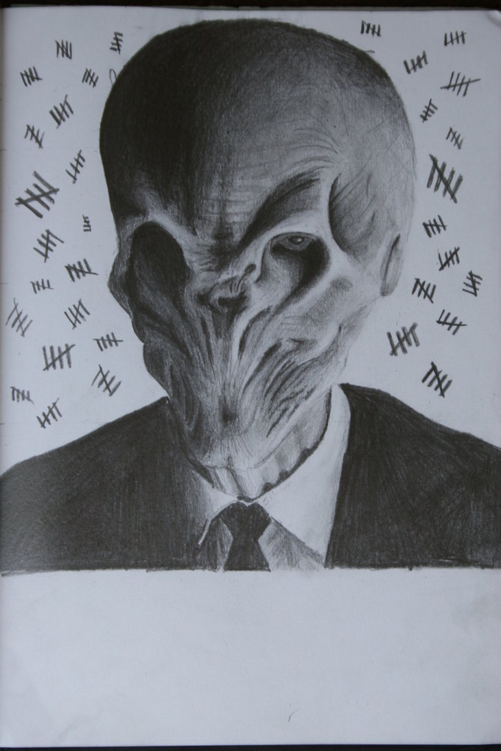 730x1095 The Silence From Doctor Who By Joelmann