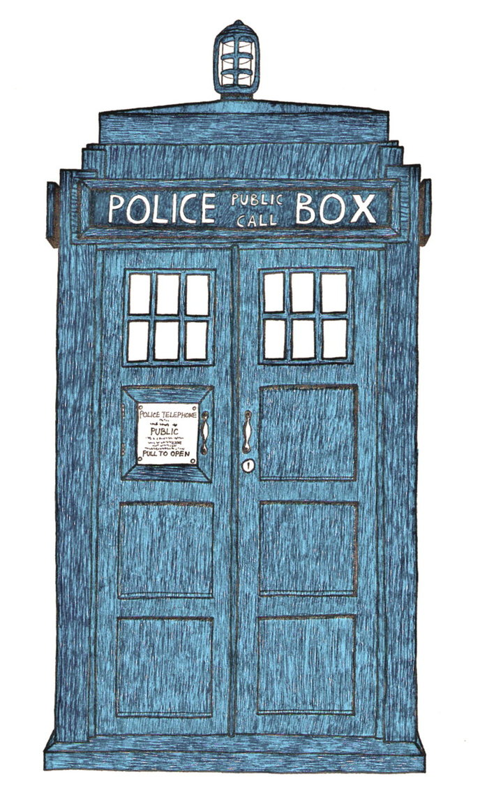 Doctor who tardis drawing at getdrawings free for personal use 698x1145 my first attemp to draw tardis by obviouslycumbersome on deviantart malvernweather Gallery