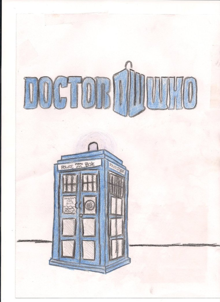 Doctor Who Tardis Drawing at GetDrawings.com | Free for personal use ...