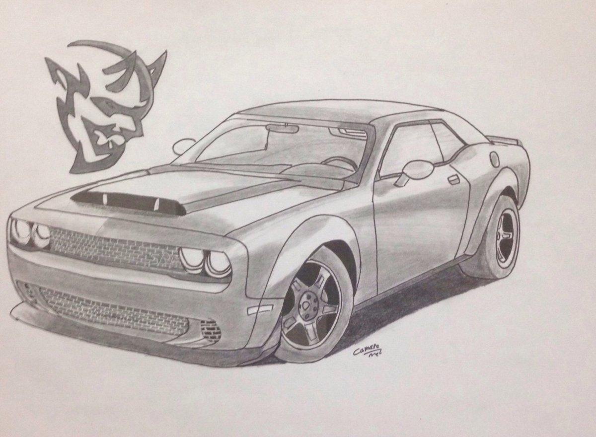 1200x880 Dodge Challenger Demon
