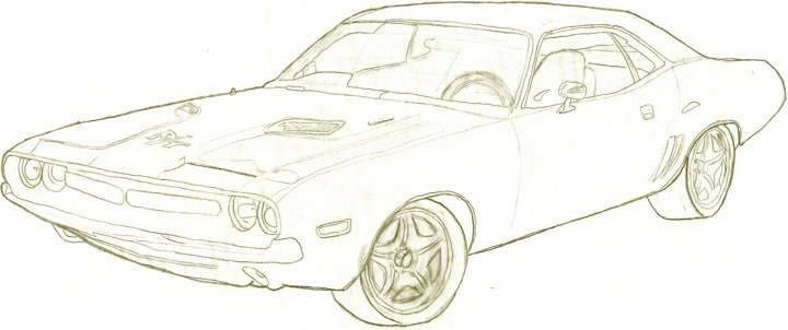 720x302 Dodge Challenger By Paintballer5231