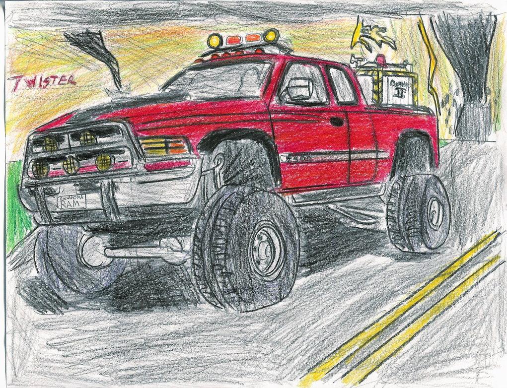 1021x782 Twister Dodge Ram My Version By Carfan