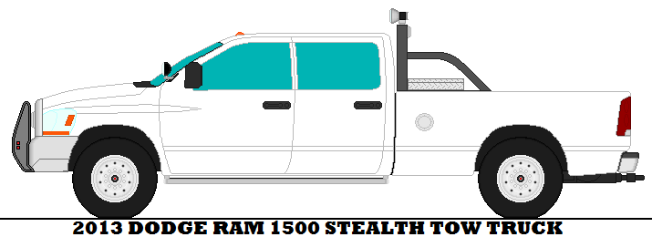 715x260 2013 Dodge Ram 1500 Stealth Tow Truck By Mcspyder1