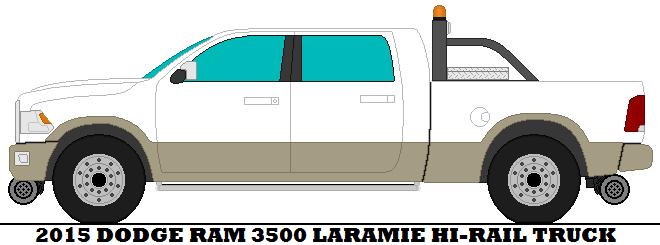 660x245 2015 Dodge Ram 3500 Laramie Hi Rail Truck By Mcspyder1