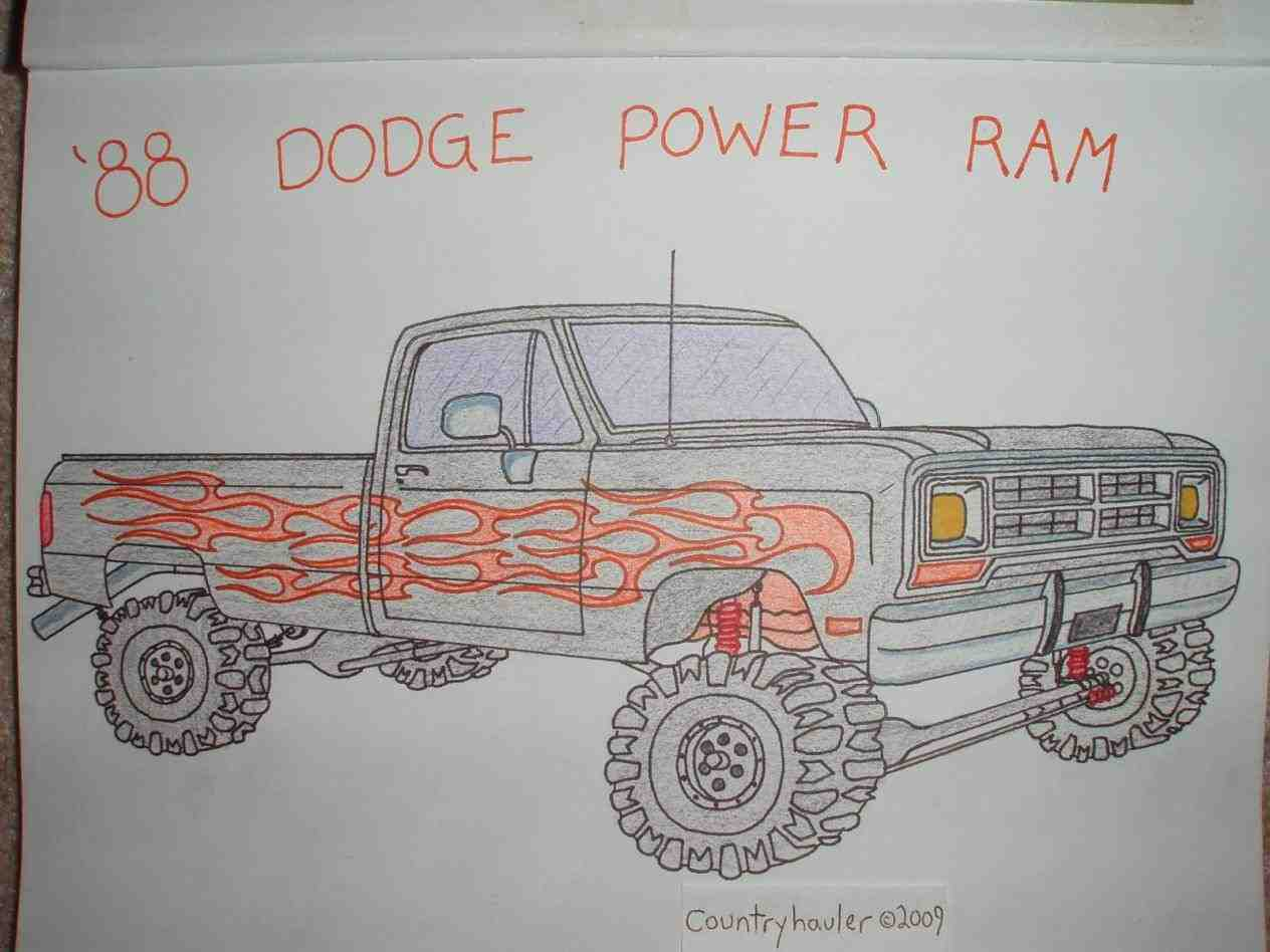 Dodge Truck Drawing At Free For Personal Use Need 57 F100 Custom Cab Wiring Diagram Ford Enthusiasts 1264x948 How Lifted Drawings To Draw A S Ram Mega
