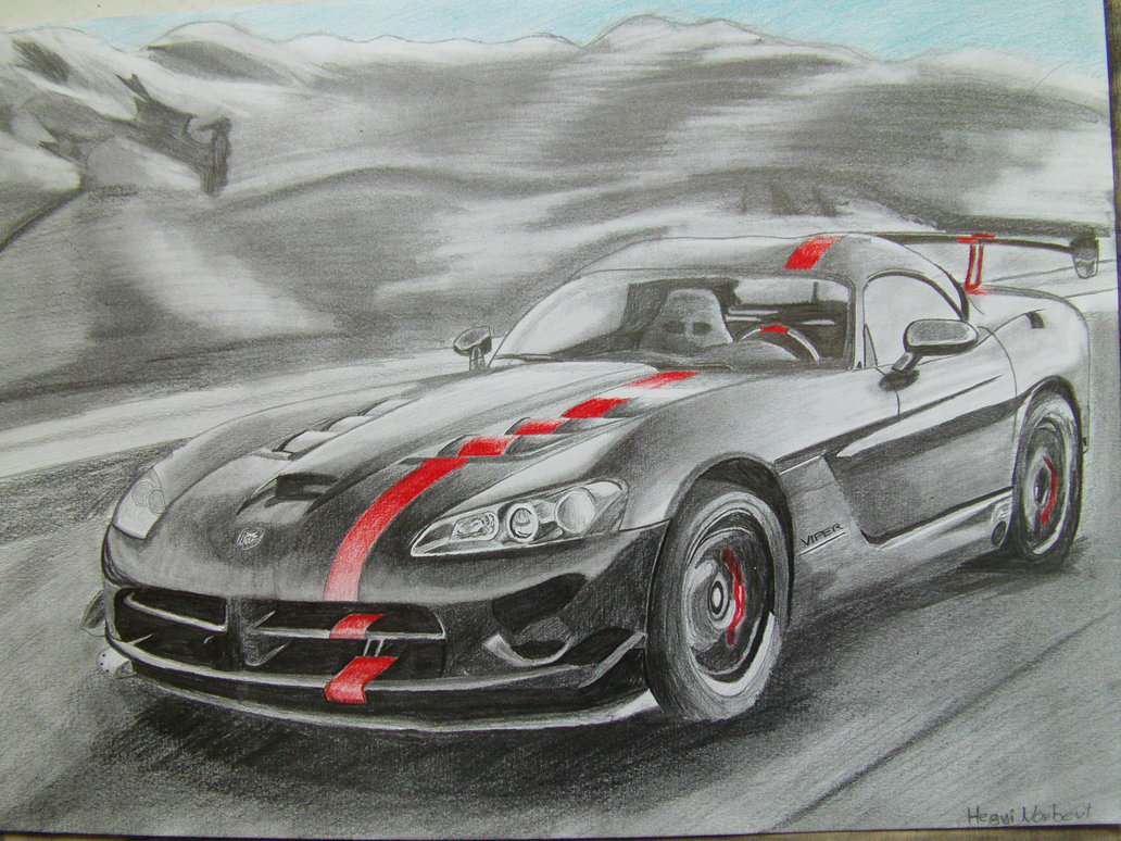1032x774 Dodge Viper Srt 10 By Hnorby94