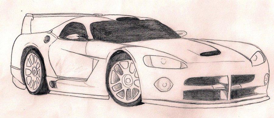 900x389 Dodge Viper By Aliryuu