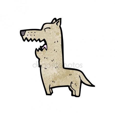 450x450 Fierce Dog Cartoon Stock Vector Lineartestpilot