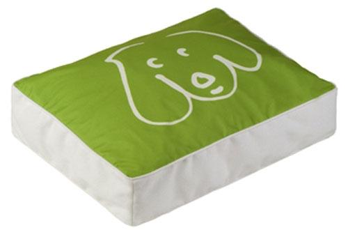 500x330 Lime Green Doodle Dog Dog Illustration Dog Bed