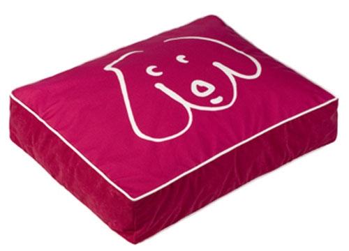 500x360 Pink Crypton Doodle Dog Rectangle Dog Beds Pet Bed