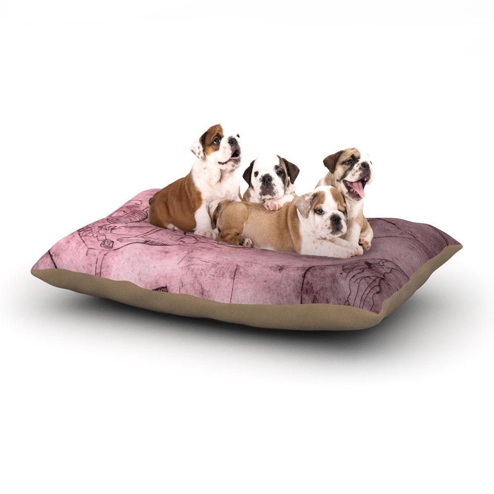980x980 Theresa Giolzetti Magic Tricks Purple Drawing Dog Bed Magic
