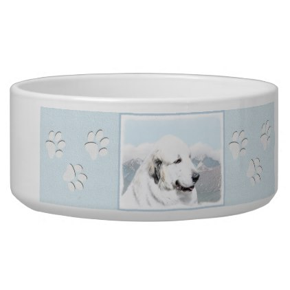 422x422 Great Pyrenees Bowl