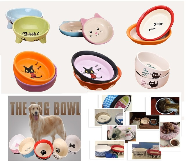 640x554 Pet Feeders Ceramic Dog Bowls For Small And Medium Cat Amp Dogs