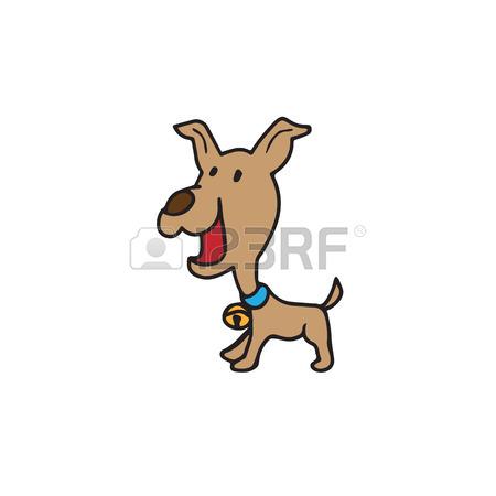 450x450 Dog Cartoon Character Drawing Vector Royalty Free Cliparts