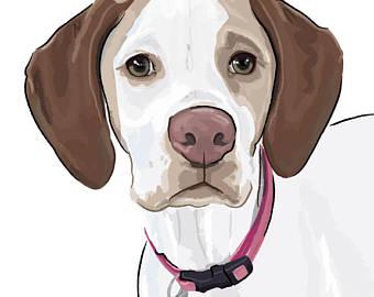 340x270 Dog drawings Etsy