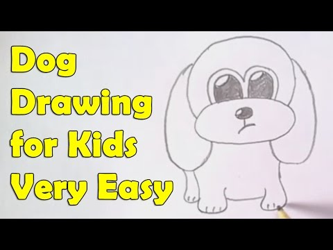480x360 How To Draw A Dog For Kids