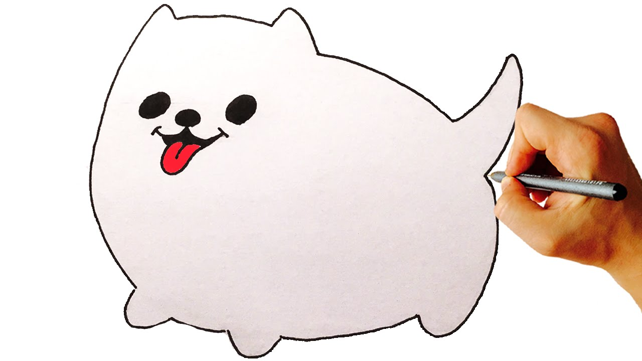 1280x720 How To Draw Annoying Dog From Undertale Drawing