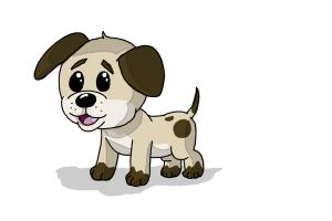 300x200 How To Draw A Dog