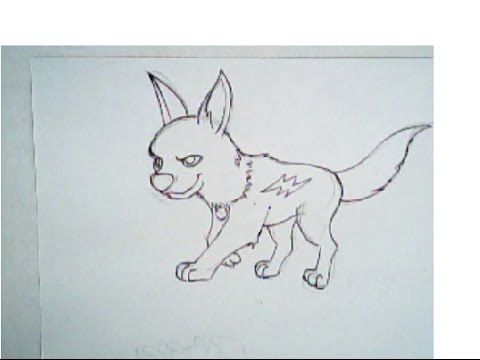 480x360 How To Draw Bolt (Small Dog Drawing, Tutorial)