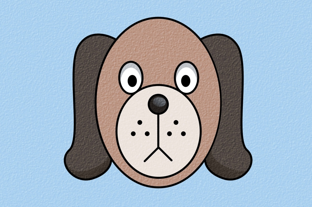 1024x682 How To Draw A Dog Face How To Draw A Really Good Dog 10 Steps