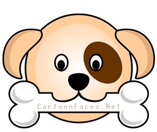 312x263 Dog Cartoon Faces Cartoon Faces
