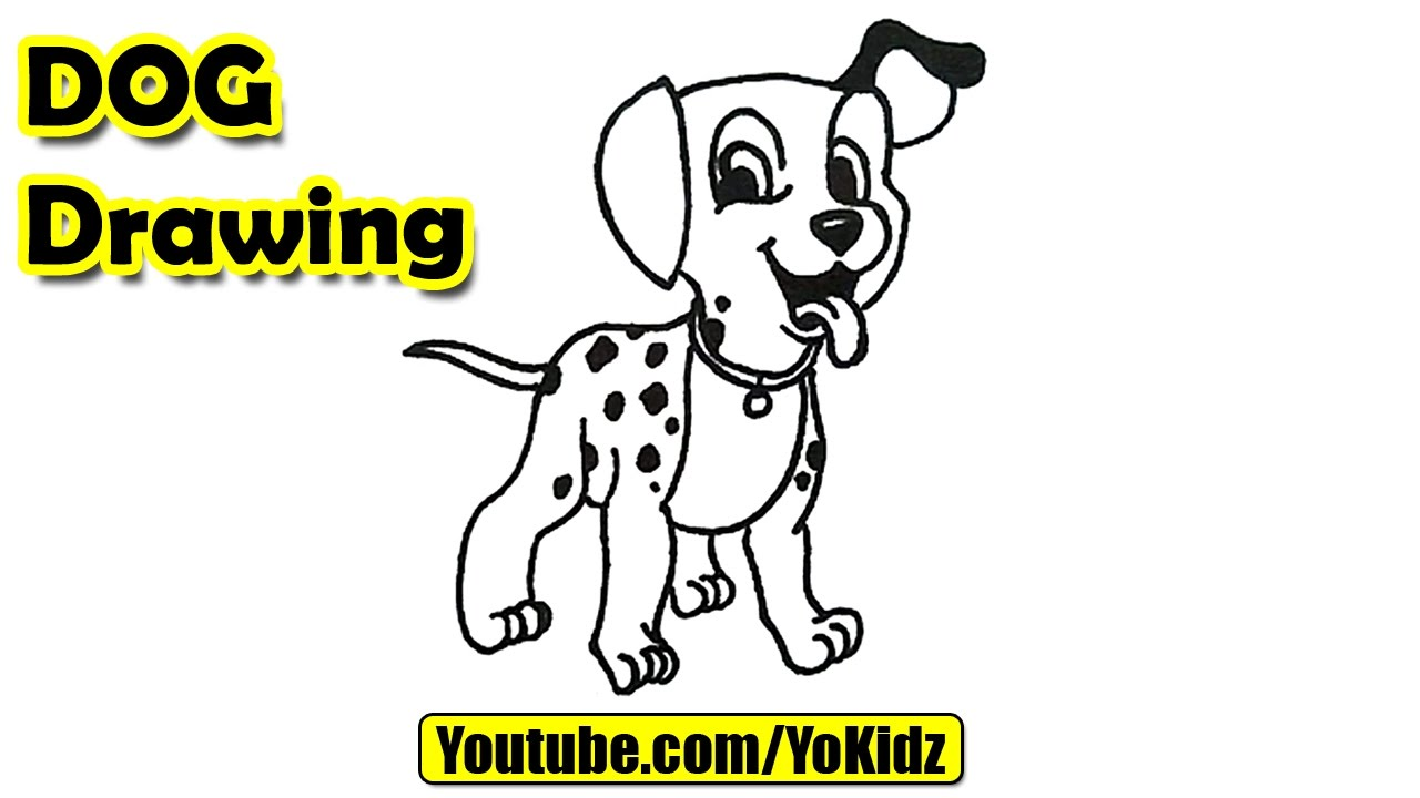 1280x720 How To Draw Dog For Kids