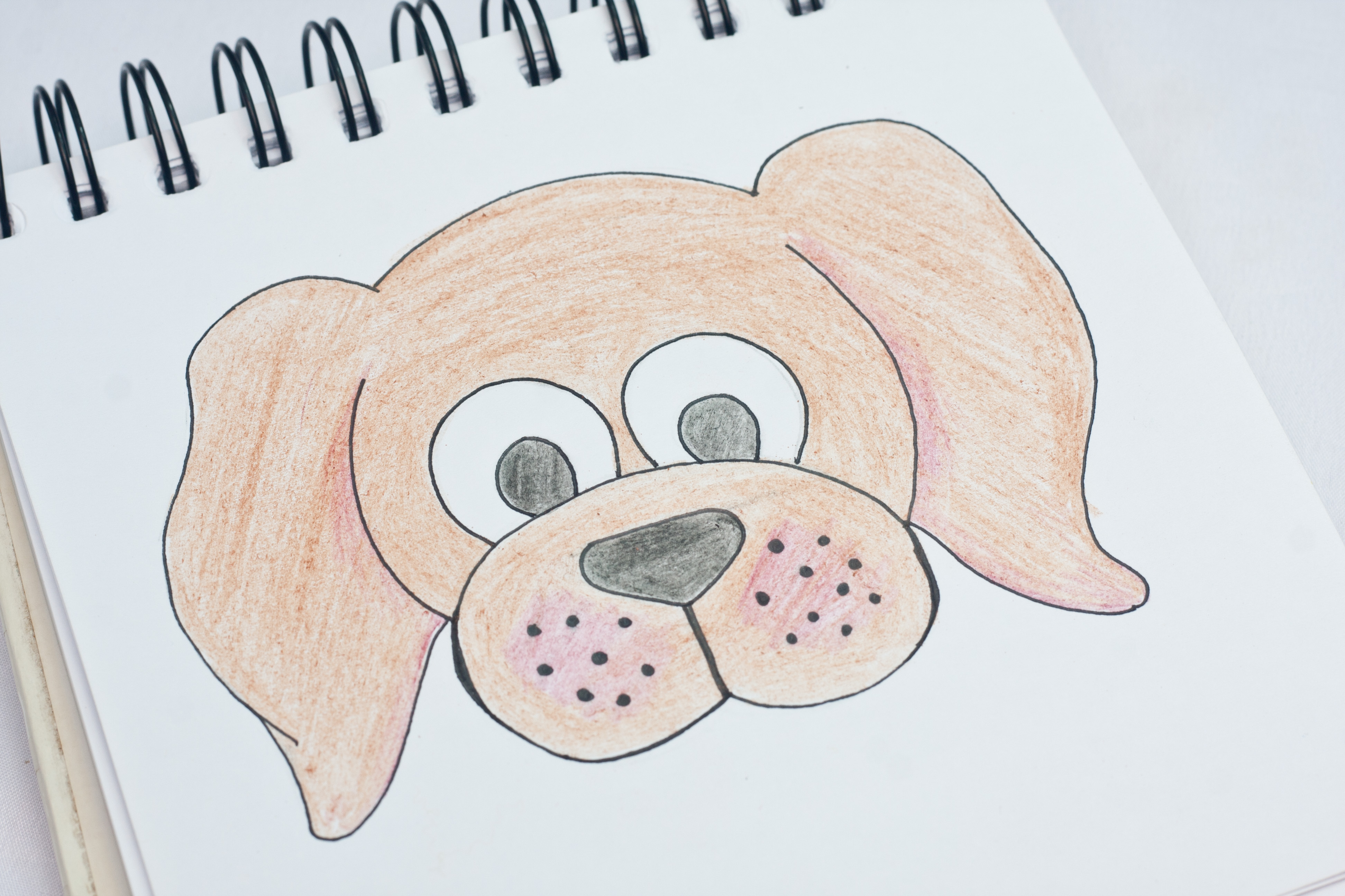 Dog Head Drawing At Getdrawings Com Free For Personal Use Dog Head