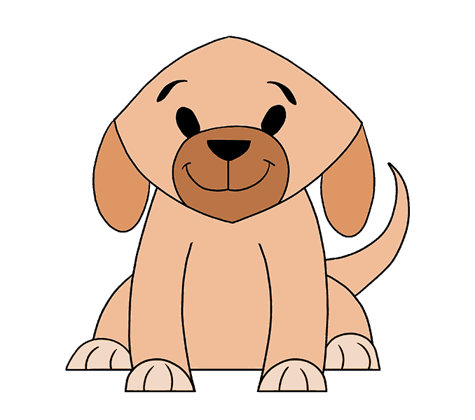 678x600 Pictures Draw Simple Dog,