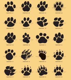 236x264 Kids, And Everybody. Paw Print Dogs Tattoo, Hennas