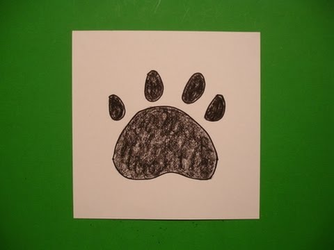 480x360 Let's Draw A Dog Paw Print!