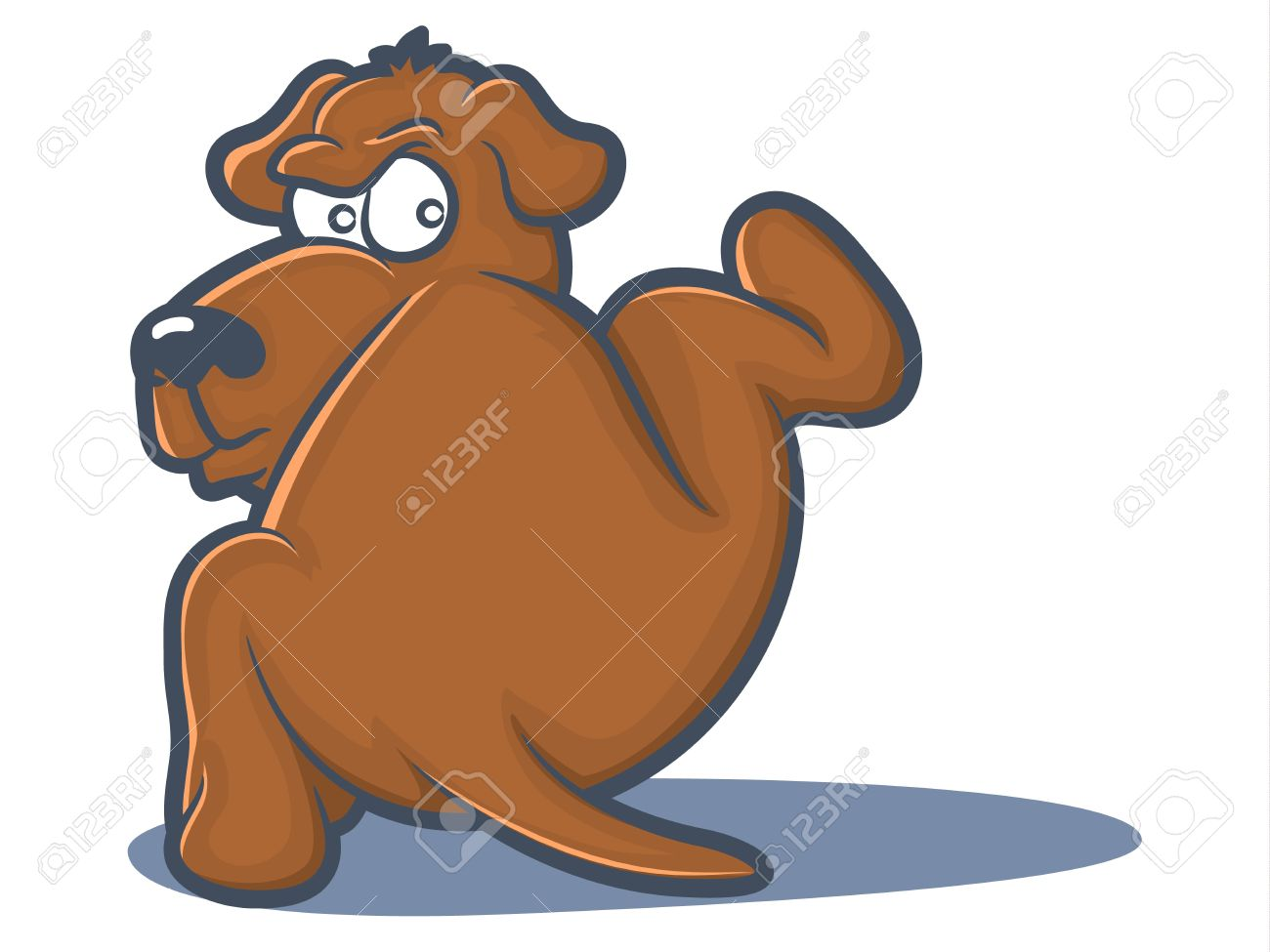 1300x975 Dog Lifting His Leg To Pee Royalty Free Cliparts, Vectors,