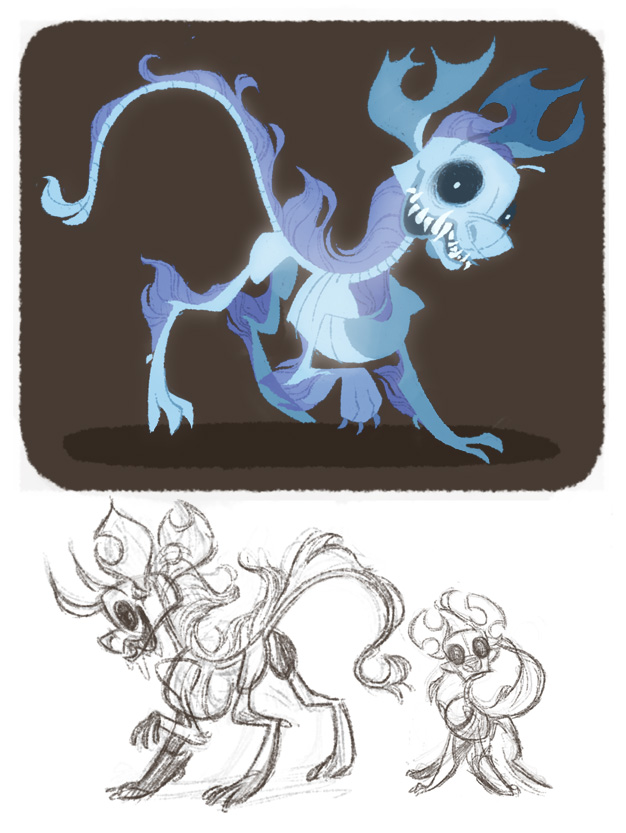 626x833 My Little Skeleton Dog By Otherwise