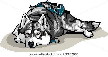 Dog Sled Drawing at GetDrawings com   Free for personal use
