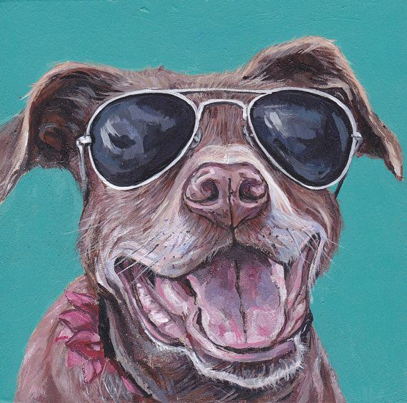 How To Draw A Dog With Sunglasses
