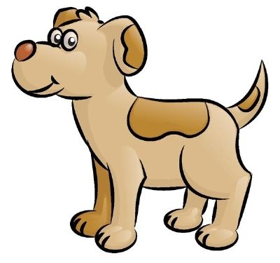 400x375 How To Draw A Dog In 5 Steps Phonics, Language Arts And Language