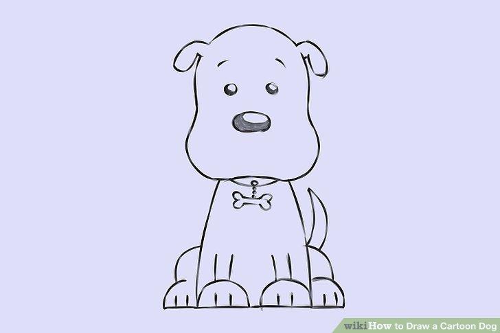 728x485 Photos How To Draw Cartoon Dogs,