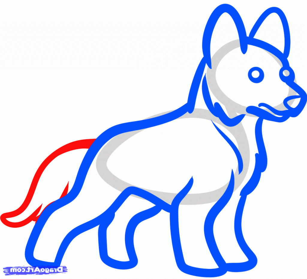 1024x930 Drawing Easy Drawings Of A Dog With Easy Cat And Dog Drawings