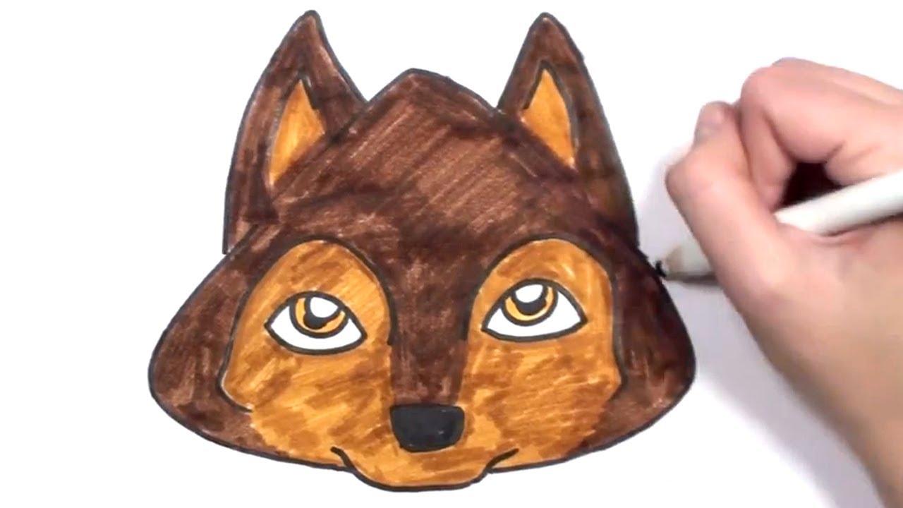 1280x720 How To Draw A Cartoon Dog Face Mlt