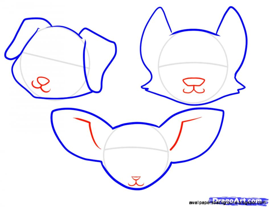 945x727 Cute Dog Drawing Step By Step Wallpapers Background