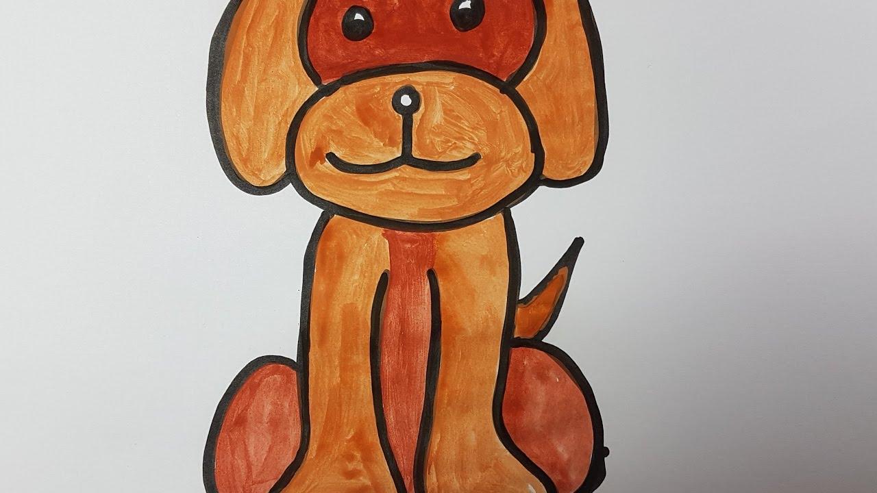 1280x720 How To Draw Dog