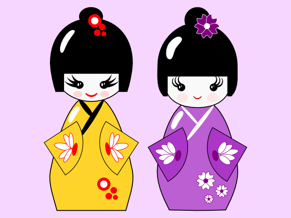 600x450 Drawing A Kokeshi Doll A Tutorial For Inkscape Beginners